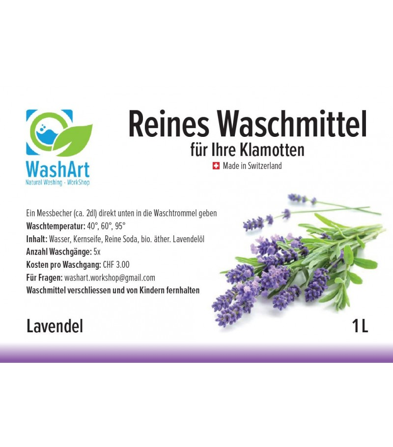 Detergent Lavender 1L