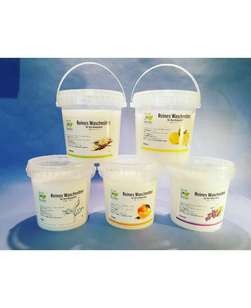 Detergent Set Nature, Orange, Lavender, Eucalyptus, Lemon 5x1L