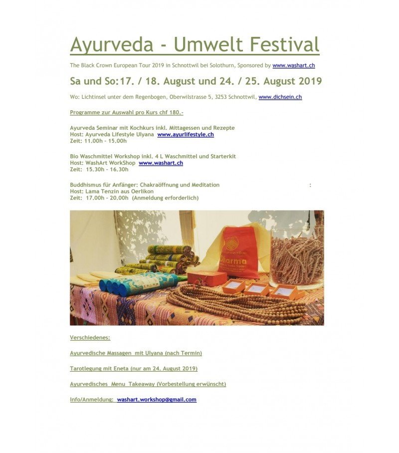 Ticket for Ayurveda and Environment Festival in Sc...